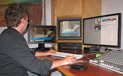 Acrobat Television in-house edit suite